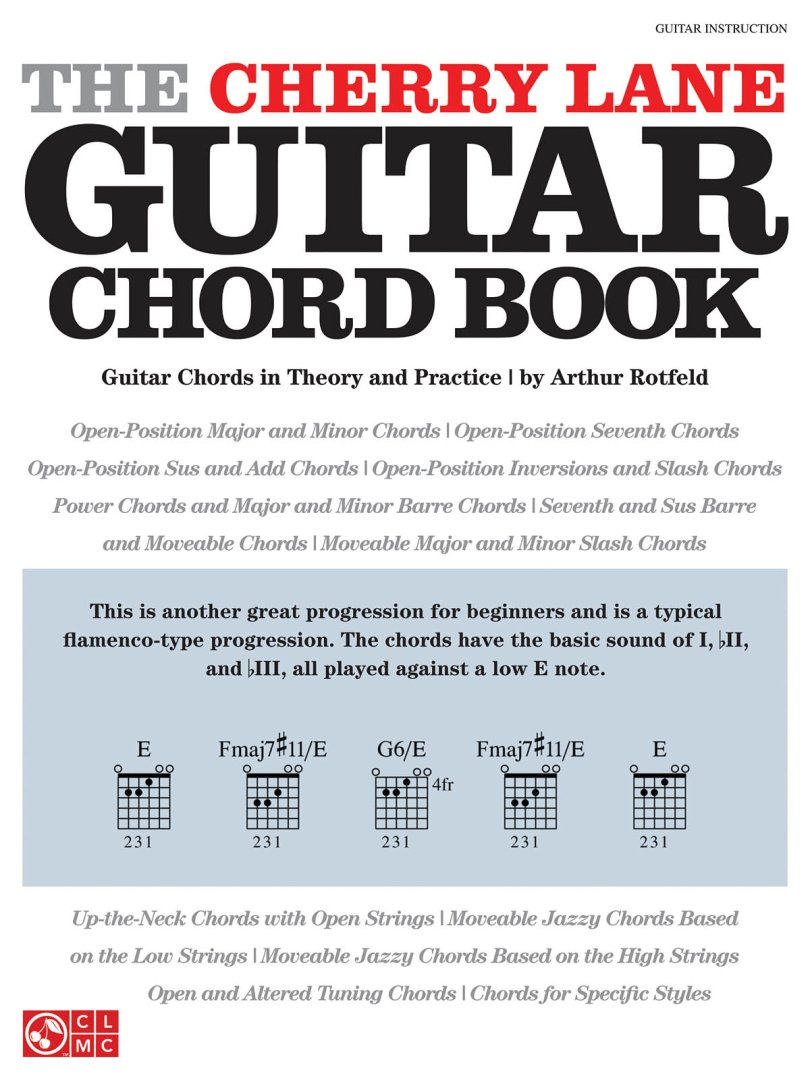 The Cherry Lane Guitar Chord Book Guitar Chords In Theory And Practic