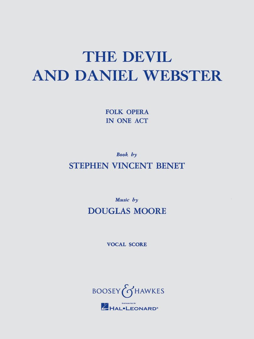 the devil and daniel webster essay The devil and daniel webster is a short story by stephen vincent benétthis faustian tale was inspired by washington irving's short story the devil and tom walkerbenet's story centers on a new hampshire farmer who sells his soul to the devil and is defended by daniel webster, a fictional version of the famous statesman, lawyer, and orator.