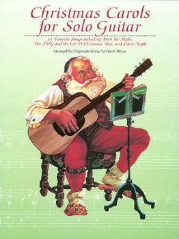 Christmas Carols for Solo Guitar (HL-00000191)