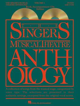 Singer's Musical Theatre Anthology - Volume 1: Duets Book/2 CDs Pack (HL-00000487)