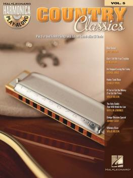 Country Classics: Harmonica Play-Along Volume 5 (HL-00001004)