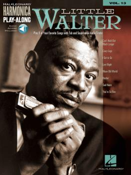 Little Walter: Harmonica Play-Along Volume 13 (HL-00001334)