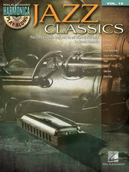 Jazz Classics: Harmonica Play-Along Volume 15 (HL-00001336)
