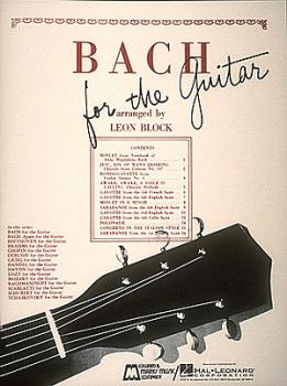 Bach for Guitar (Guitar Solo) (HL-00006329)