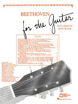 Beethoven for Guitar (Guitar Solo) (HL-00006332)