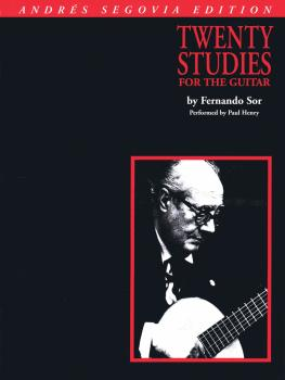 Andres Segovia - 20 Studies for Guitar (Book Only) (HL-00006363)