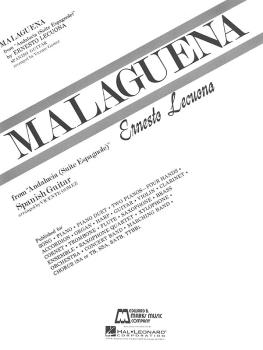Malaguena (Guitar Solo) (HL-00006374)
