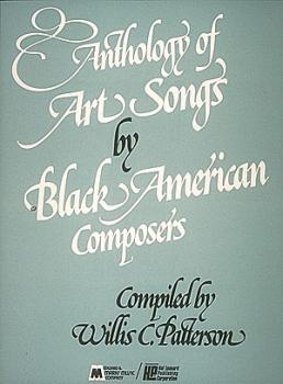 Anthology of Art Songs by Black American Composers (Voice and Piano) (HL-00008242)