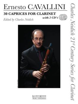 30 Caprices for Clarinet: Charles Neidich 21st Century Series for Clar (HL-00042367)