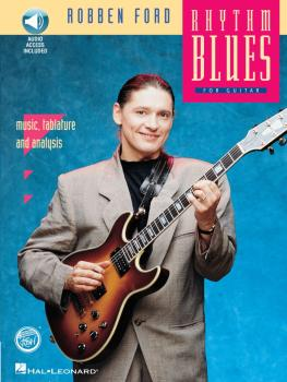 Robben Ford - Rhythm Blues (REH Book/Audio Pack) (HL-00070030)