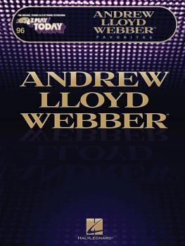 Andrew Lloyd Webber Favorites: E-Z Play Today Volume 246 (HL-00100267)