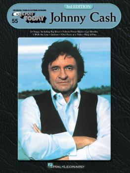 Johnny Cash - 3rd Edition: E-Z Play Today Volume 55 (HL-00100342)