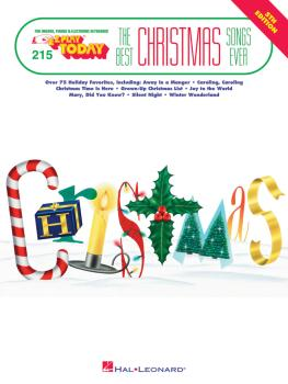 Best Christmas Songs Ever - 5th Edition: E-Z Play Today Volume 215 (HL-00101533)