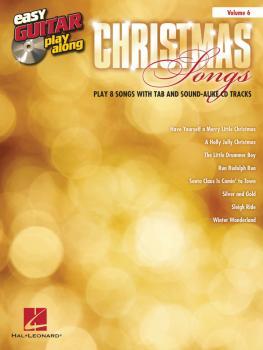 Christmas Songs: Easy Guitar Play-Along Volume 6 (HL-00101879)