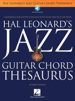 Jazz Guitar Chord Thesaurus (HL-00102475)