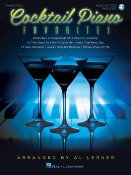 Cocktail Piano Favorites: Solo Arrangements of 15 Jazz Classics (HL-00102523)