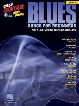 Blues Songs for Beginners: Easy Guitar Play-Along Volume 7 (HL-00103235)