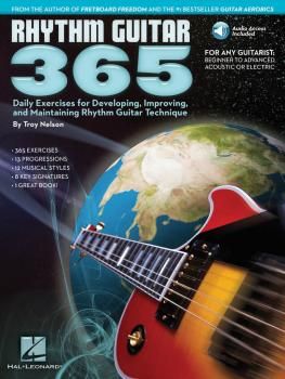 Rhythm Guitar 365: Daily Exercises for Developing, Improving and Maint (HL-00103627)