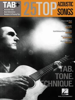25 Top Acoustic Songs - Tab. Tone. Technique. (Tab+) (HL-00109283)