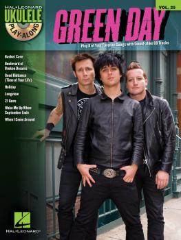 Green Day: Ukulele Play-Along Volume 25 (HL-00110398)