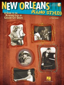 New Orleans Piano Styles: A Guide to the Keyboard Licks of Crescent Ci (HL-00111674)
