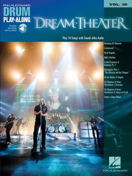 Dream Theater: Drum Play-Along Volume 30 (HL-00111942)