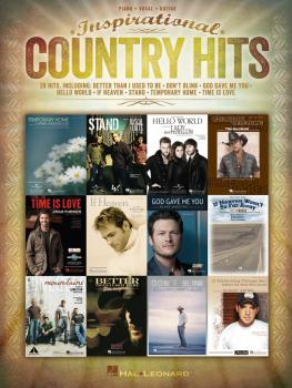 Inspirational Country Hits (HL-00112961)