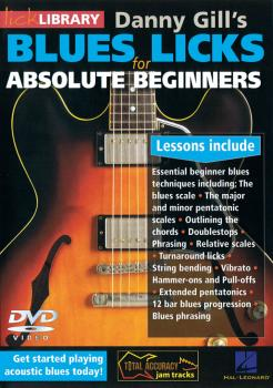 Blues Licks for Absolute Beginners (HL-00114426)