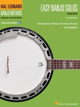 Easy Banjo Solos for 5-String Banjo -¦Second Edition: Hal Leonard Banj (HL-00114592)