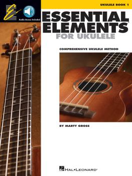 Essential Elements for Ukulele - Method Book 1: Comprehensive Ukulele  (HL-00116015)