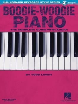Boogie-Woogie Piano: Hal Leonard Keyboard Style Series (HL-00117067)