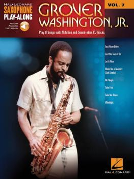 Grover Washington, Jr.: Saxophone Play-Along Volume 7 (HL-00118293)
