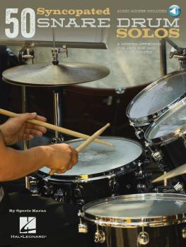 50 Syncopated Snare Drum Solos: A Modern Approach for Jazz, Pop, and R (HL-00119645)