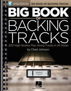 Big Book of Backing Tracks: 200 High-Quality Play-Along Tracks in All  (HL-00119678)