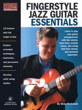 Fingerstyle Jazz Guitar Essentials: Acoustic Guitar Private Lessons (HL-00119954)