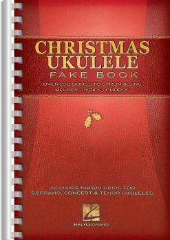Christmas Ukulele Fake Book (HL-00120171)