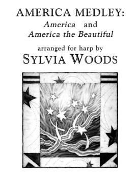 America Medley: America and America the Beautiful (Arranged for Harp) (HL-00121074)