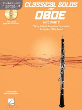 Classical Solos for Oboe, Vol. 2: 15 Easy Solos for Contest and Perfor (HL-00121136)