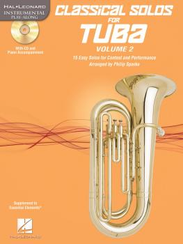 Classical Solos for Tuba (B.C.), Vol. 2: 15 Easy Solos for Contest and (HL-00121148)