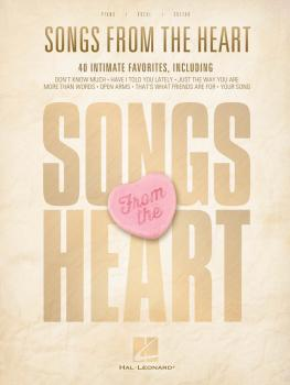 Songs from the Heart (HL-00121512)