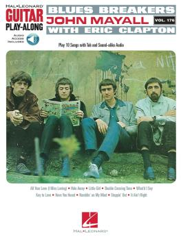Blues Breakers with John Mayall & Eric Clapton: Guitar Play-Along Vol. (HL-00122132)