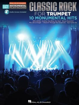 Classic Rock: Trumpet Easy Instrumental Play-Along Book with Online Au (HL-00122201)