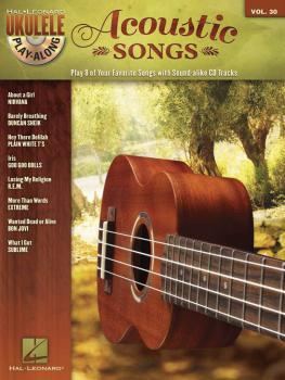 Acoustic Songs: Ukulele Play-Along Volume 30 (HL-00122336)