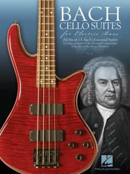 Bach Cello Suites for Electric Bass (HL-00123294)