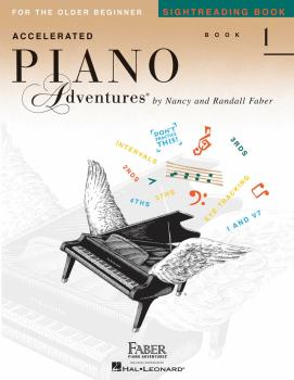 Accelerated Piano Adventures Sightreading Book 1 (HL-00123496)