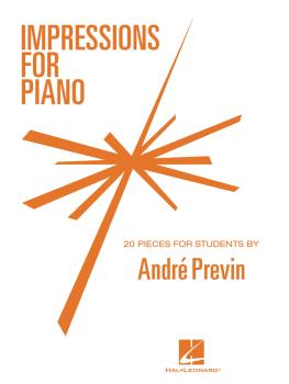 Impressions for Piano: 20 Pieces for Students by Andre Previn (HL-00123526)