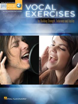 Vocal Exercises (for Building Strength, Endurance and Facility) (HL-00123770)