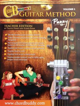ChordBuddy Guitar Method - Volume 1: Teacher Book with DVD (HL-00123872)