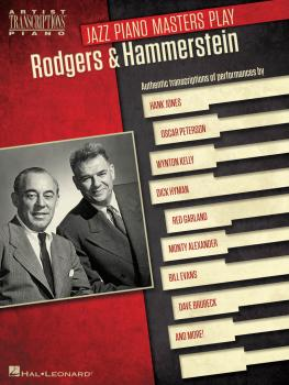 Jazz Piano Masters Play Rodgers & Hammerstein: Artist Transcriptions f (HL-00124367)