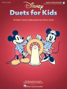 Disney Duets for Kids: 10 Great Songs Arranged for Vocal Duet Book/Aud (HL-00124472)